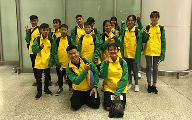 Jovenes vietnamitas participaran en programa deportivo en Japon hinh anh 1