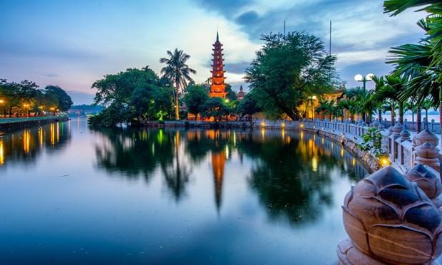 Pagoda Tran Quoc, milenario sitio sagrado en Hanoi hinh anh 1