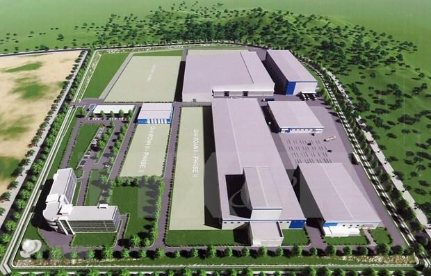 Inician construccion de la primera fabrica de componentes aeroespaciales de Vietnam hinh anh 1