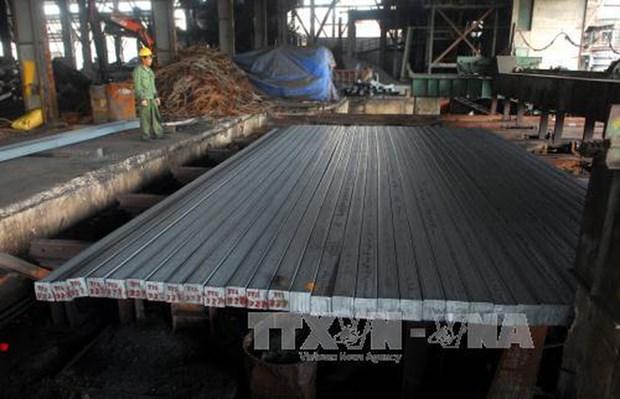Fuerte desarrollo del sector de acero vietnamita hinh anh 1