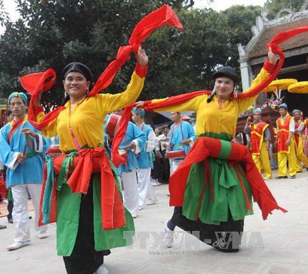 Trascienden danza antigua de la capital milenaria Hanoi hinh anh 1