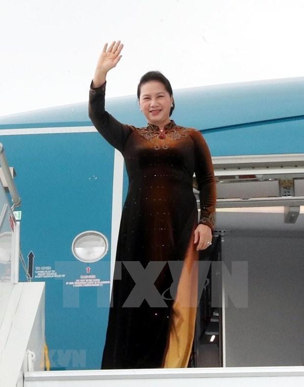 Presidenta del Parlamento vietnamita concluye visita oficial a Marruecos hinh anh 1