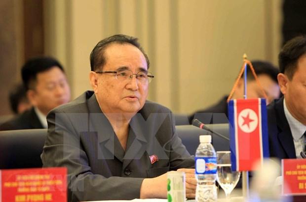 Corea del Norte y Laos intensifican cooperacion hinh anh 1