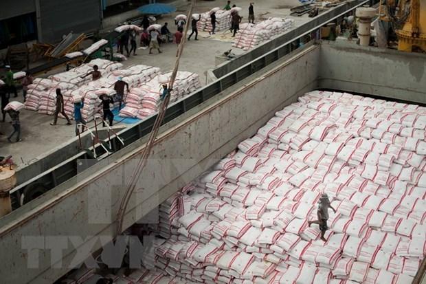 Tailandia reduce exportacion de arroz hinh anh 1