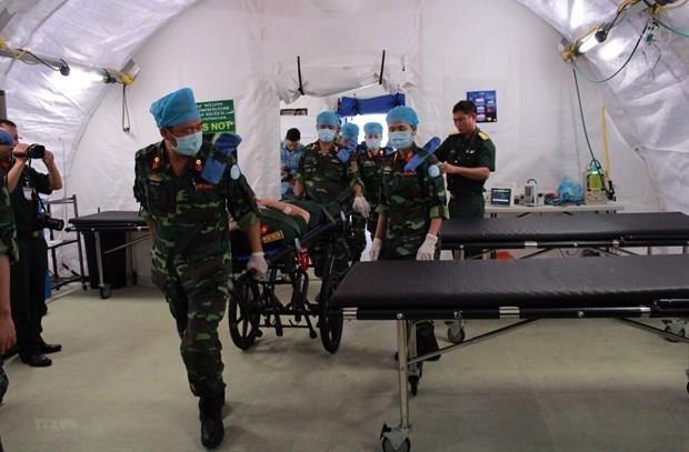 Inauguran en Vietnam curso de entrenamiento de la ONU para altos oficiales militares hinh anh 1