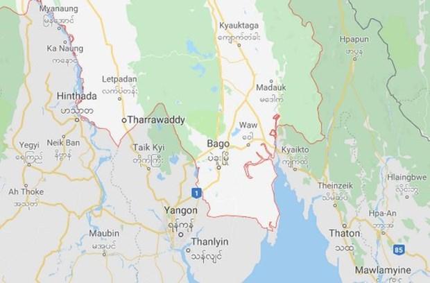 Reportan en Myammar 40 victimas tras caida de camion por un barranco hinh anh 1