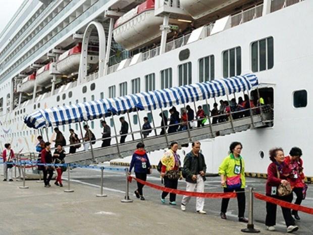Crece en Vietnam el sector del turismo de cruceros hinh anh 1