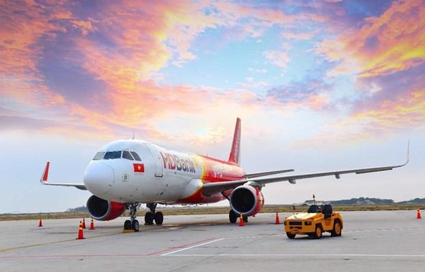 Ofrece aerolinea vietnamita Vietjet Air mas de un millon de boletos super ahorradores para nuevas rutas hinh anh 1