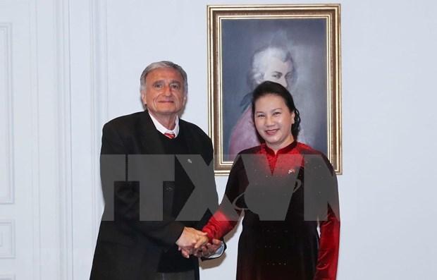 Destaca lider parlamentaria vietnamita papel de la Asociacion de Amistad de Francia con su pais hinh anh 1