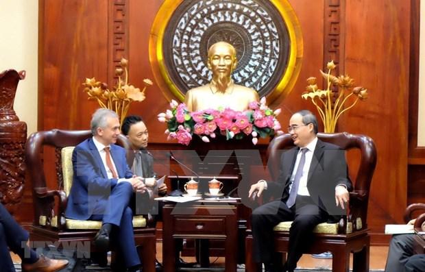 Buscan promover cooperacion entre ciudades de Vietnam y Alemania hinh anh 1