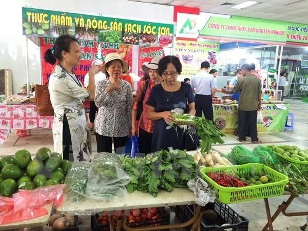 Impulsa provincia vietnamita de Ninh Binh la oferta de productos agricolas seguros hinh anh 1