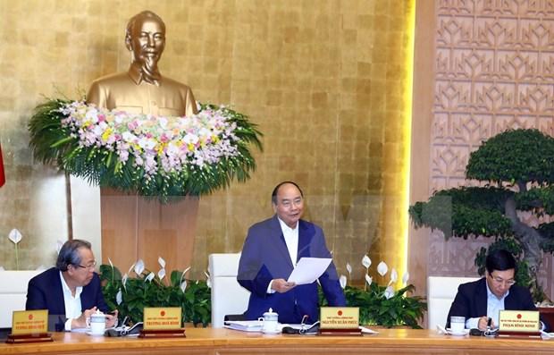 Premier de Vietnam insta a esfuerzos para mantener ritmo de crecimiento economico hinh anh 1