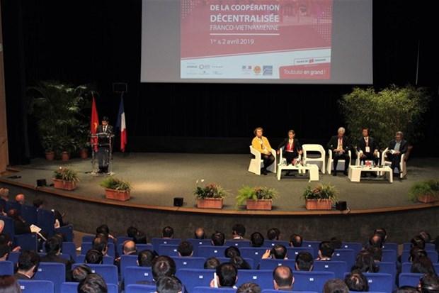 Impulsan cooperacion entre localidades vietnamitas y francesas hinh anh 1