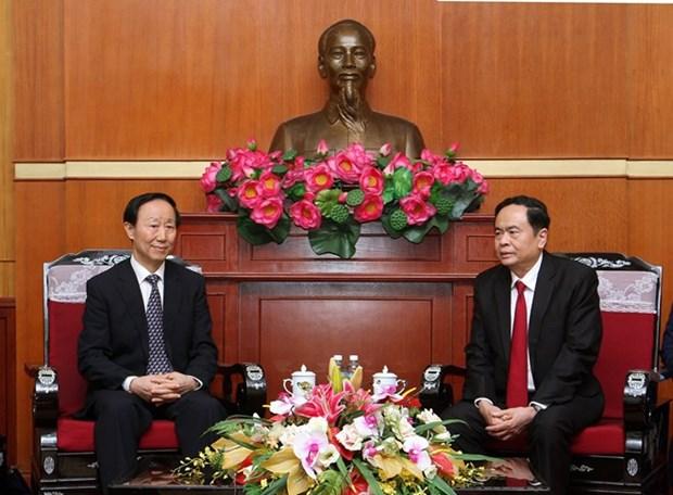 Fortalecen lazos de amistad entre Vietnam y China hinh anh 1
