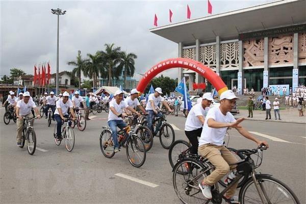 Realizan actividades en Vietnam en ocasion del Dia Internacional contra las Minas hinh anh 1