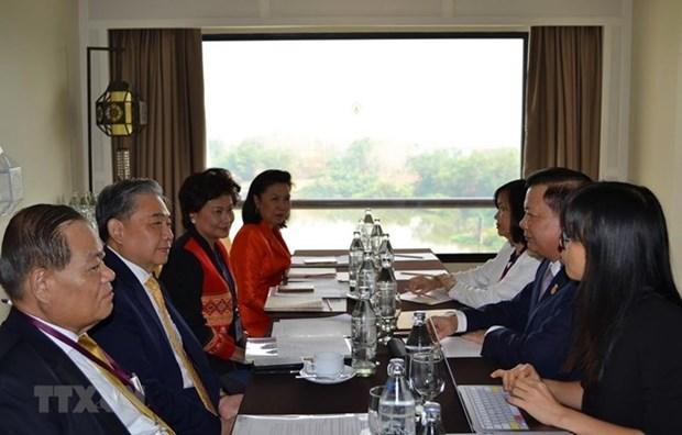 Vietnam y Tailandia mejoran la cooperacion financiera en el marco de la ASEAN hinh anh 1