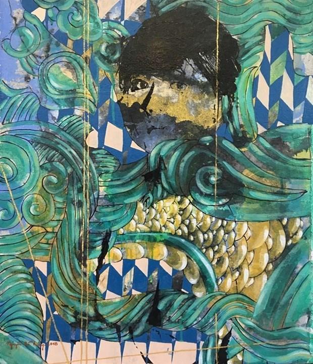 Presenta pintor vietnamita exposicion individual en Estados Unidos hinh anh 1