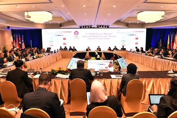 Decidida ASEAN a fomentar estabilidad financiera regional hinh anh 1