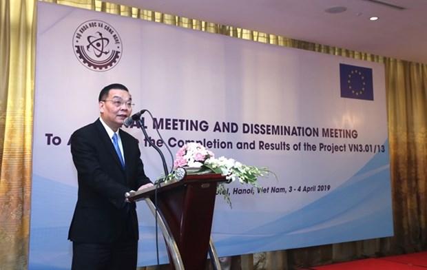 Promueve Union Europea asistencia en seguridad nuclear a Vietnam hinh anh 1
