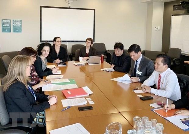 Impulsan cooperacion parlamentaria entre Vietnam y Canada hinh anh 1