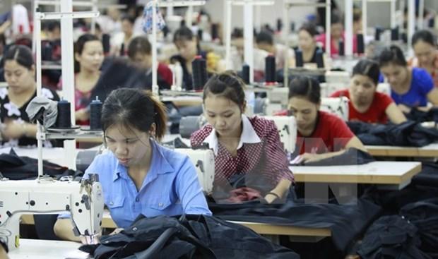 Ingresa Industria textil de Vietnam 8,7 mil millones de dolares en primer trimestre de 2019 hinh anh 1