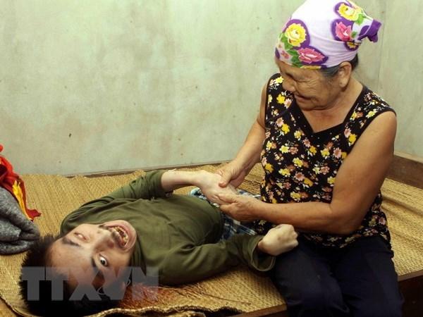 Beneficiados en Vietnam con ayudas medicas y subsidios mas de un millon de discapacitados hinh anh 1