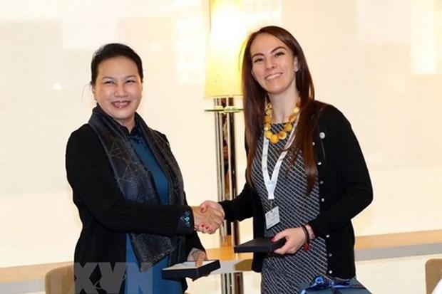 Presidenta de la Asamblea Nacional de Vietnam viaja a Qatar para Asamblea de UIP hinh anh 1