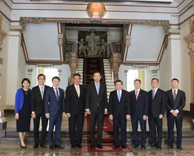 Dirigente de Ciudad Ho Chi Minh destaca proyectos de empresa singapurense Keppel hinh anh 1