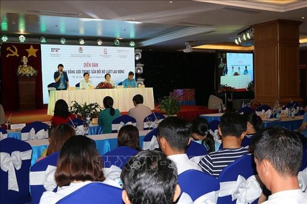 Debaten en Vietnam papel de igualdad de genero en sector laboral hinh anh 1