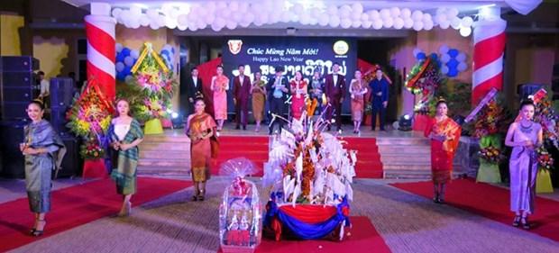 Celebran estudiantes laosianos en Vietnam el Festival de Bunpimay hinh anh 1