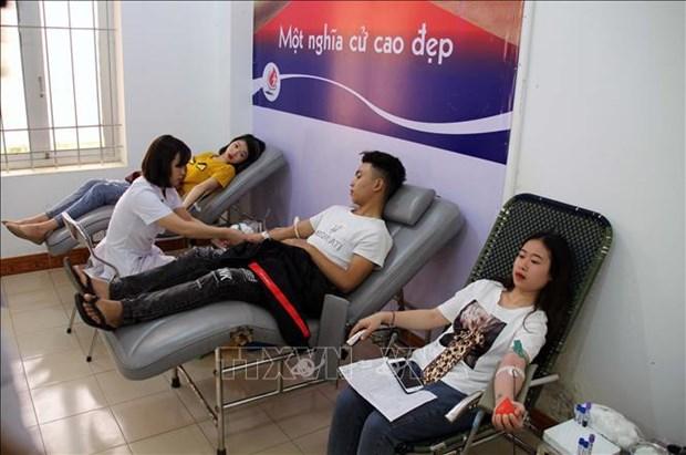 Impulsan en Vietnam campana de donacion de sangre hinh anh 1