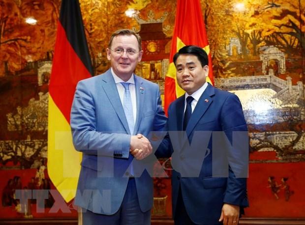 Promueve Vietnam colaboracion con estado aleman de Turingia hinh anh 1