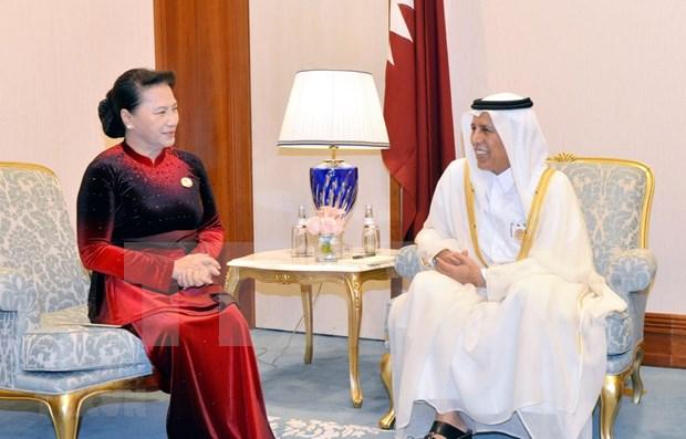Promueve Vietnam nexos parlamentarios con Qatar, Kazajstan e Iran hinh anh 1