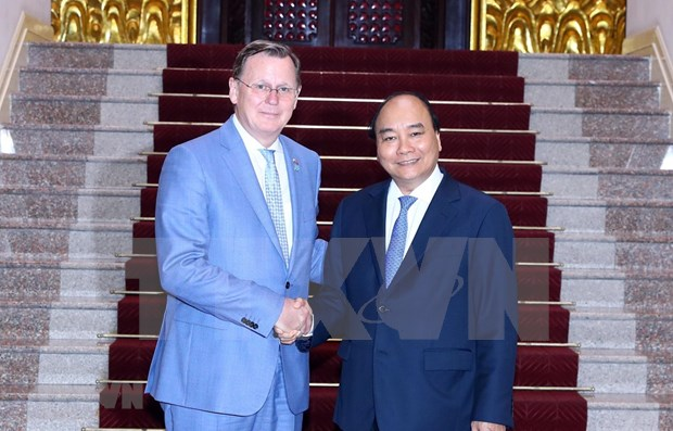 Estimula premier de Vietnam inversiones del estado aleman de Turingia hinh anh 1