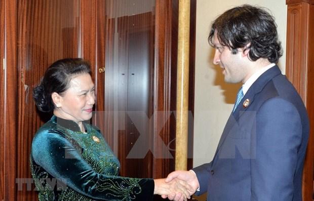 Fortalece Vietnam relaciones con Georgia, Micronesia y Sri Lanka hinh anh 1