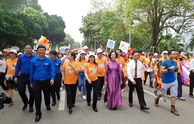 Celebra Vietnam el Dia Mundial de la Salud 2019 hinh anh 1
