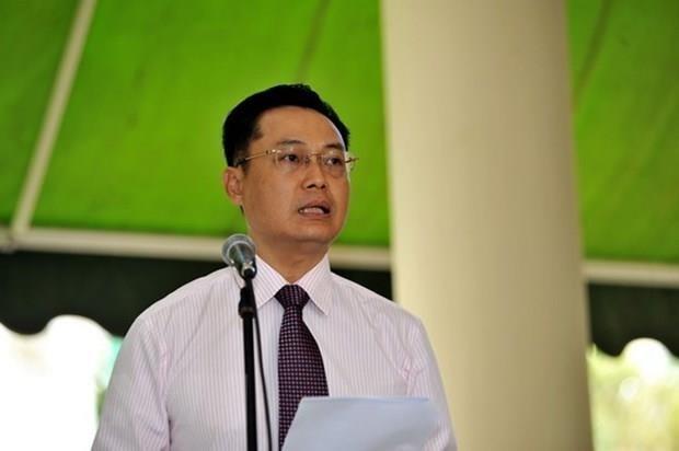 Presenta cartas credenciales embajador de Vietnam en Federacion de San Cristobal y Nieves hinh anh 1