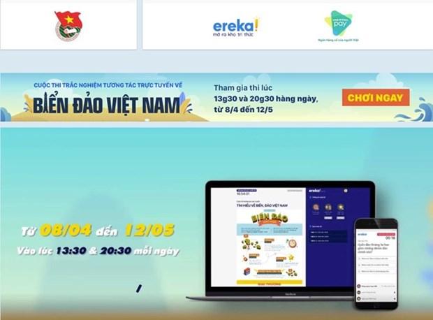Lanzan en Vietnam concurso en linea sobre mares e islas hinh anh 1