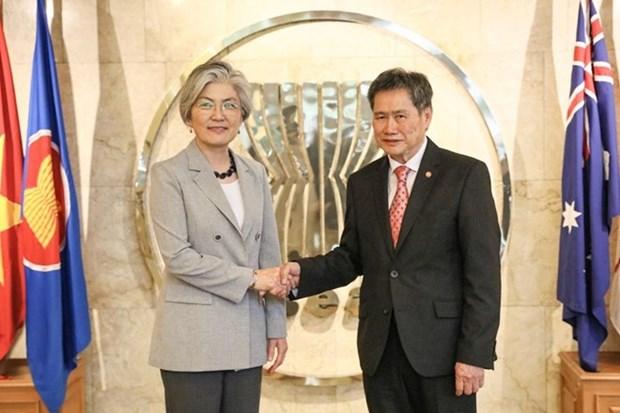 Reafirma canciller de Corea del Sur interes de su pais en ampliar relaciones con la ASEAN hinh anh 1