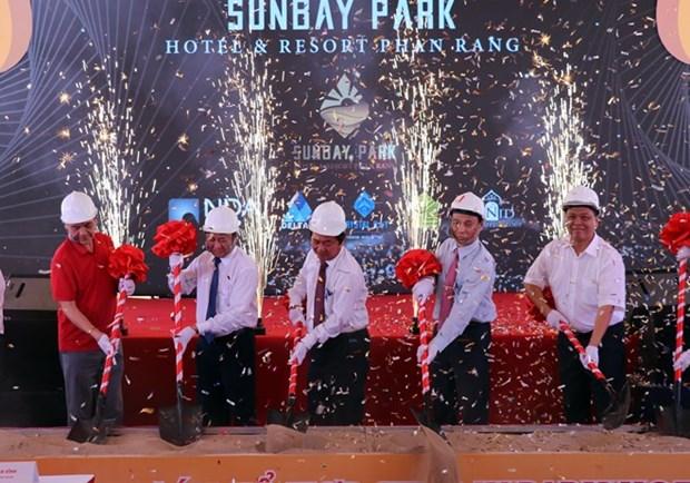 Inician construccion del mayor complejo hotelero de la provincia vietnamita de Ninh Thuan hinh anh 1