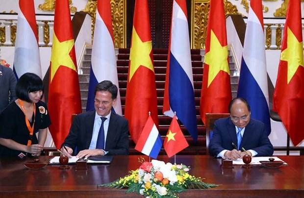 Vietnam y Paises Bajos emiten declaracion conjunta hinh anh 1