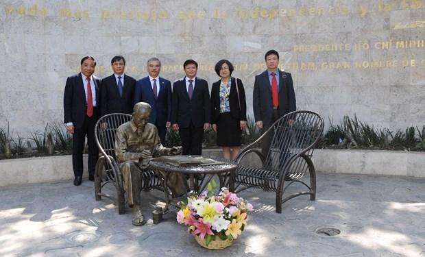 Fomentan cooperacion agencia de noticias vietnamita VNA y la mexicana Notimex hinh anh 2