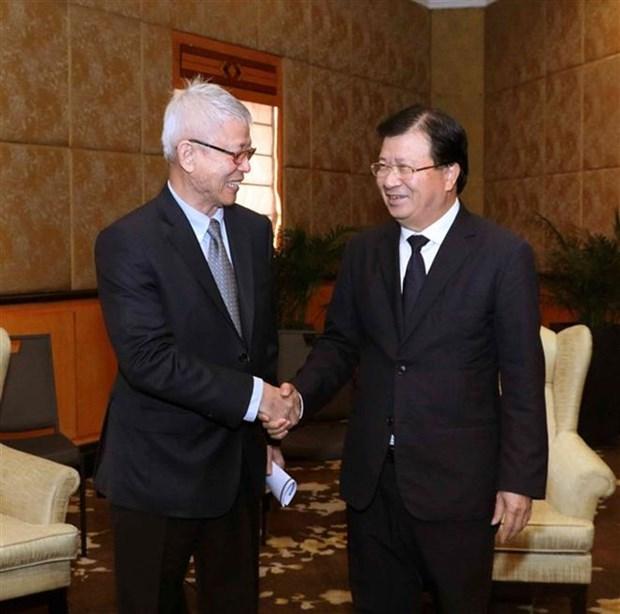 Facilita Vietnam inversiones de empresas tailandesas hinh anh 1