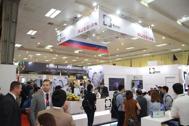 Abre sus puertas la mayor feria comercial de Vietnam hinh anh 1
