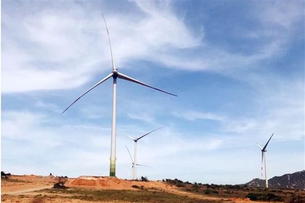 Inauguran la planta de energia eolica Mui Dinh en la provincia vietnamita de Ninh Thuan hinh anh 1