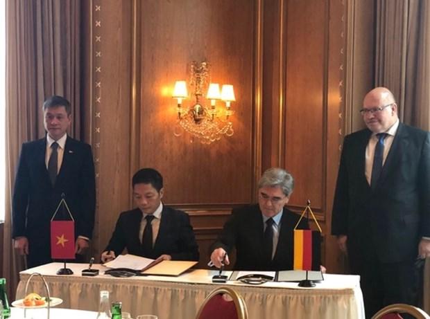 Grupo aleman Siemens ayuda a Vietnam a construir infraestructura inteligente hinh anh 1