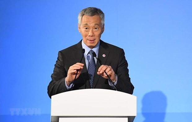 Destaca premier de Singapur que nueva ley contra noticias falsas significa un paso trascendental hinh anh 1