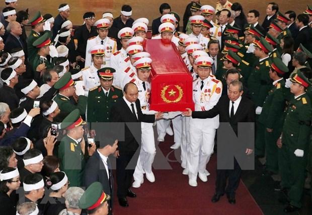 Rinden homenaje en Vietnam a Dong Sy Nguyen, heroe de la legendaria ruta Ho Chi Minh hinh anh 1