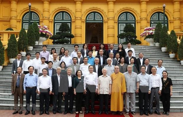 Destaca maximo dirigente de Vietnam papel del Frente de la Patria hinh anh 1