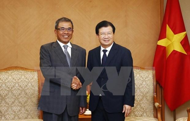 Gobierno vietnamita dispuesto a apoyar a inversores extranjeros hinh anh 1